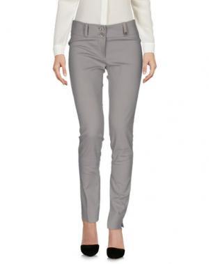Повседневные брюки TRY ME. Цвет: серый