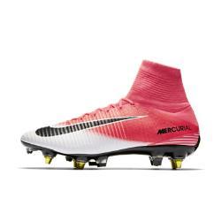 Футбольные бутсы для игры на мягком грунте  Mercurial Superfly V Dynamic Fit SG-PRO Anti-Clog Nike. Цвет: розовый