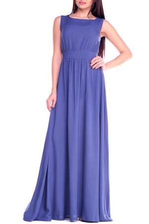 Платье Laura Bettini. Цвет: чернильный