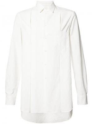 Классическая рубашка Uma Wang. Цвет: белый