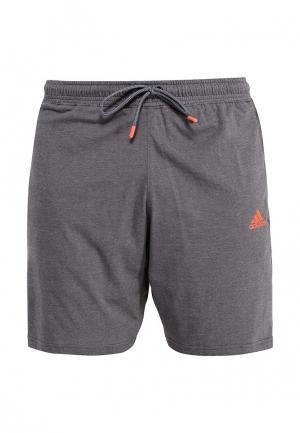 Шорты спортивные adidas Combat. Цвет: серый