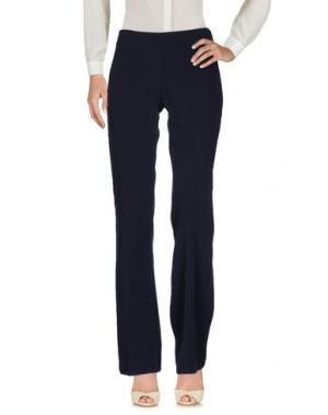 Повседневные брюки MIA SULIMAN. Цвет: грифельно-синий
