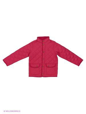 Куртка United Colors of Benetton. Цвет: красный, малиновый