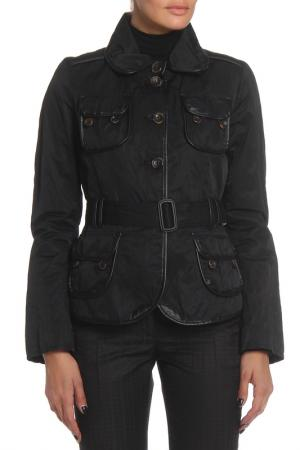 Куртка One Step. Цвет: черный