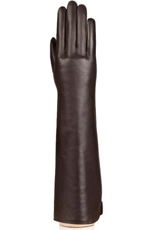 Перчатки Labbra. Цвет: темно-коричневый