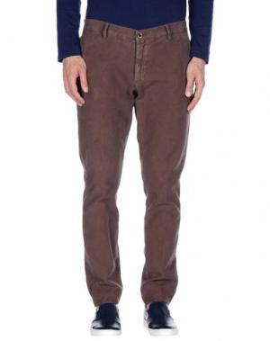 Повседневные брюки BARBATI. Цвет: светло-коричневый