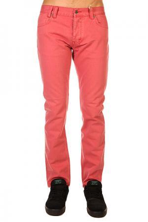 Джинсы узкие  Awesome Haring Red Insight. Цвет: розовый