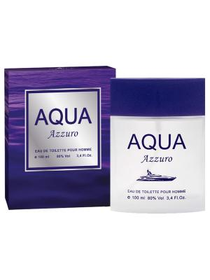 Туалетная вода Aqua Azzuro (Аква азуро) муж. 100мл APPLE PARFUMS. Цвет: прозрачный