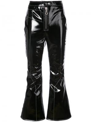 Лакированные брюки Ellery. Цвет: чёрный