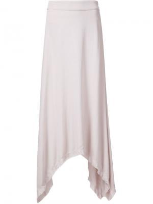 Асимметричная юбка Sam & Lavi. Цвет: розовый и фиолетовый