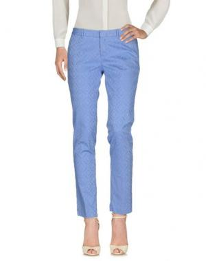 Повседневные брюки PT0W. Цвет: лазурный
