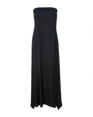 Платье длиной 3/4 SOALLURE. Цвет: черный