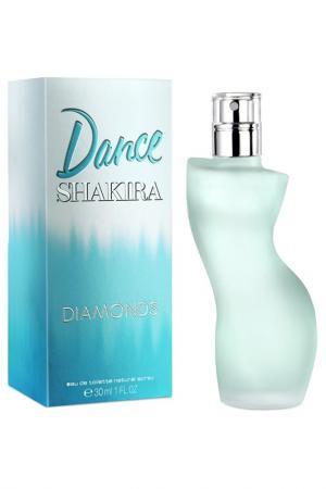 Dance Diamonds 30 мл Shakira. Цвет: прозрачный