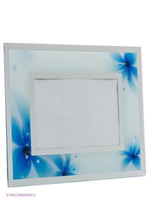 Фоторамка VELD-CO. Цвет: синий, серебристый