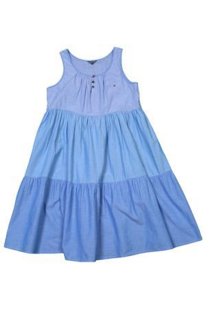 Платье Tommy Hilfiger. Цвет: 405, light indigo, дубль