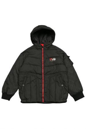 Куртка с утеплителем Versace 19.69. Цвет: black