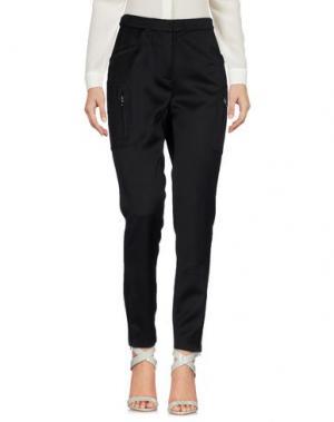Повседневные брюки TRUE ROYAL. Цвет: черный