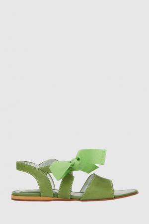 Сандалии Mi Sol. Цвет: зеленый
