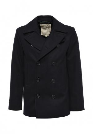 Пальто Denim & Supply Ralph Lauren. Цвет: синий