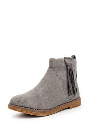 Ботинки Amore. Цвет: серый