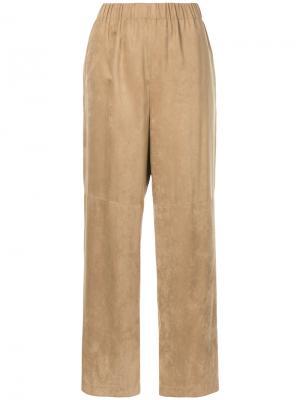 Прямые брюки En Route. Цвет: коричневый