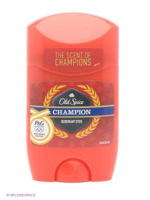 Tвердый дезодорант, Сhampion, 50 мл OLD SPICE. Цвет: красный