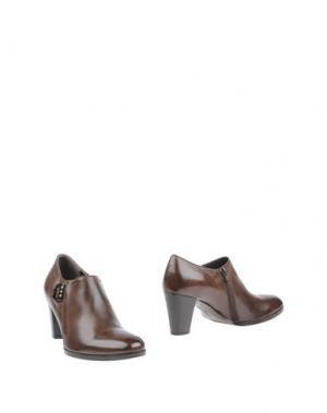 Ботинки CALPIERRE. Цвет: темно-коричневый