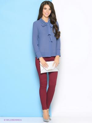 Блузка Ada Gatti. Цвет: синий