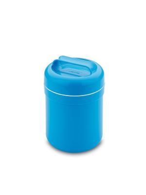 Термический контейнер д/еды, 0,5л, голубой Valira. Цвет: голубой