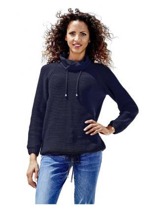 Пуловер B.C. BEST CONNECTIONS. Цвет: белый, оливковый, ягодный
