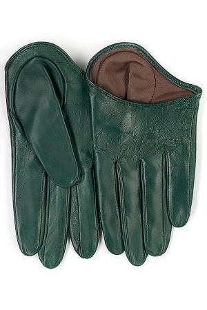 Перчатки Michel Katana. Цвет: изумруд