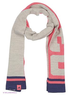 Шарф Lg Scarf Adidas. Цвет: розовый