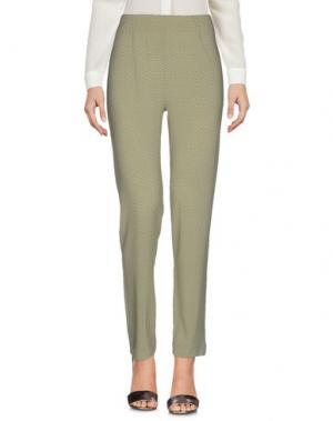 Повседневные брюки SIYU. Цвет: зеленый-милитари