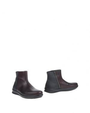 Полусапоги и высокие ботинки PIRELLI PZERO. Цвет: баклажанный