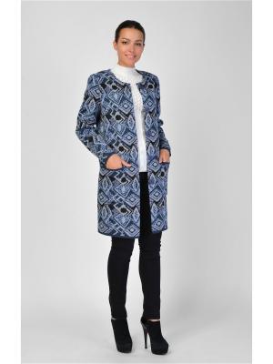 Пальто Maria Velada. Цвет: черный, серый, синий