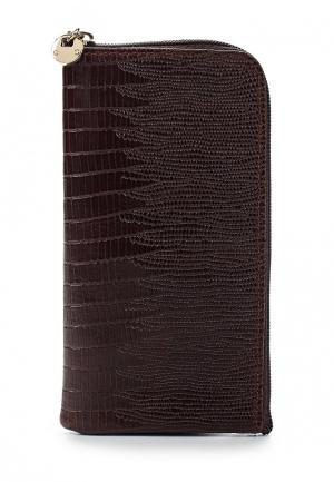 Чехол для телефона Franchesco Mariscotti. Цвет: коричневый