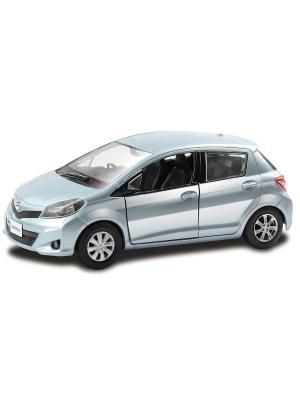 Машина Toyota Yaris, 1:32 HOFFMANN. Цвет: голубой, серебристый