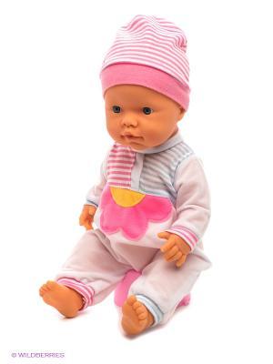 Кукла Пупс с аксессуарами FALCA. Цвет: розовый