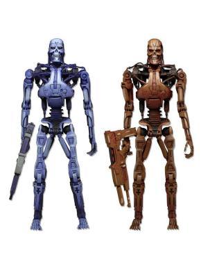 Фигурка Robocop vs The Terminator 7 Endoskeleton 2-Pack Neca. Цвет: серо-голубой, светло-коричневый