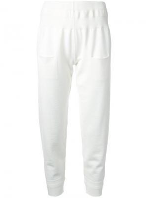 Зауженные брюки Nehera. Цвет: белый