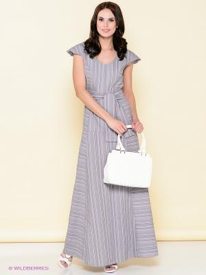 Платье LOVE&LIGHT. Цвет: серый