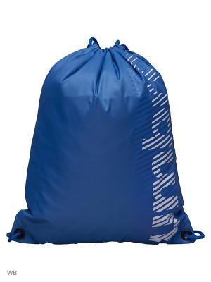 Рюкзак Umbro. Цвет: синий, белый, темно-синий