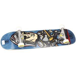 Скейтборд в сборе детский  George Blue/Red 28 x 7 (17.8 см) Юнион. Цвет: синий
