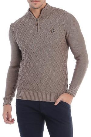 Пуловер Sir Raymond Tailor. Цвет: коричневый