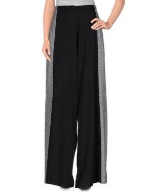 Повседневные брюки LOT 78. Цвет: черный