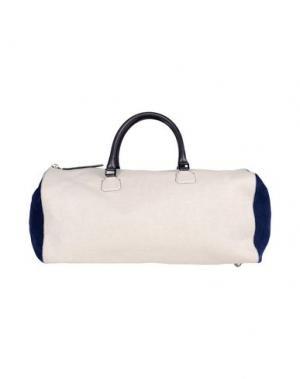 Дорожная сумка DSQUARED2. Цвет: бежевый