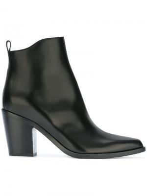 Ботинки на каблуке Sartore. Цвет: чёрный