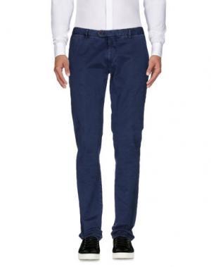 Повседневные брюки BERWICH. Цвет: грифельно-синий