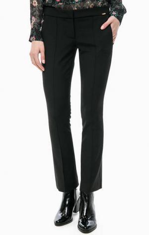 Черные расклешенные брюки Cinque. Цвет: черный
