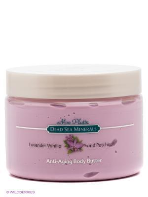 Масло для тела предотвращения старения с лавандой, ванилью и пачули Mon Platin DSM. Цвет: розовый